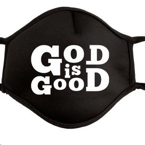 God is Good Mask new with tags